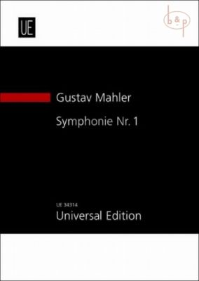 Mahler Symphony No.1 (version 1909/1910) Study Score