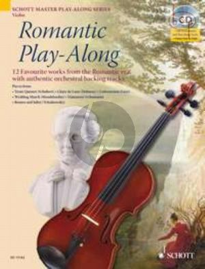 Romantic Play-Along (Violin) (12 Favourite Works with authentic orchestral backing tracks) (Bk-Cd)