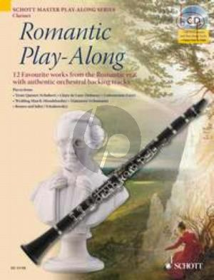 Romantic Play-Along for Clarinet (12 Favourite Works with authentic orchestral backing tracks) (Bk-Cd)
