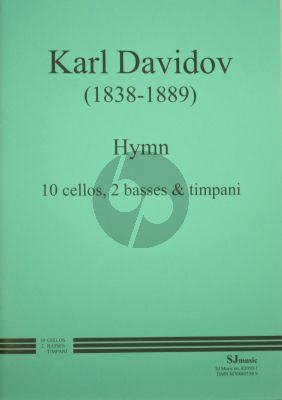 Davidoff Hymn for 10 Cellos-2 Basses and Timps (Score/Parts)