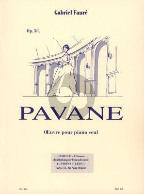 Faure Pavane Op.50 Piano seul