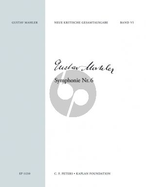 Mahler Symphony No.6 Score (Kaplan Foundation) (Reinhold Kubik)