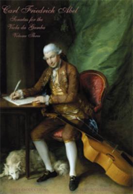 Abel Sonatas Vol.3 Viola da Gamba and Bass (Edited by George Houle)