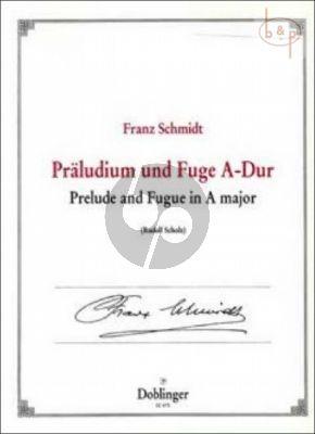 Praeludium und Fuge A-dur