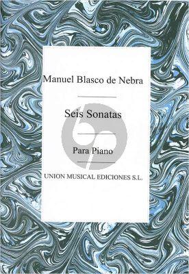 Blasco de Nebra Seis Sonatas Op.1 (rev.Parris)