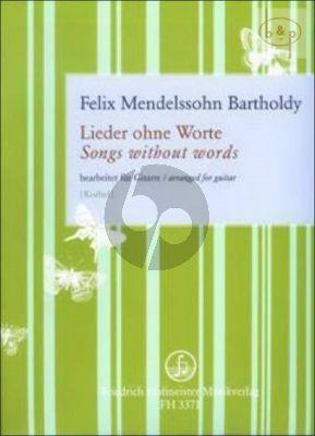 Lieder ohne Worte Mendelssohn F.