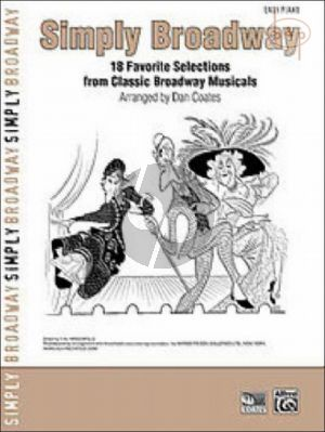 Simply Broadway (18 Favorite Selections from the Classic Broadway Musicals) (Easy Piano)