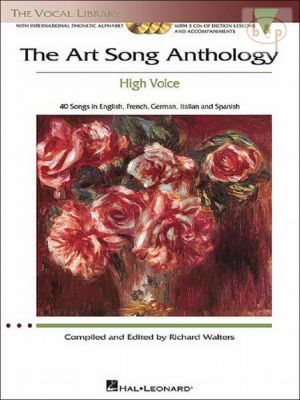 Art Song Anthology (40 Songs in English-French- German-Italian and Spanish) (High Voice)
