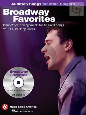 Audition Songs for Male Singers Broadway Favorites