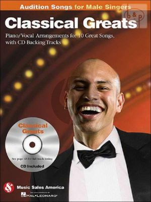 Audition Songs for Male Singers Classical Greats