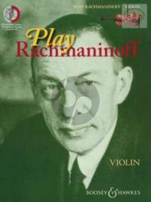 Play Rachmaninoff (11 well known works for intermediate players) (Violin)