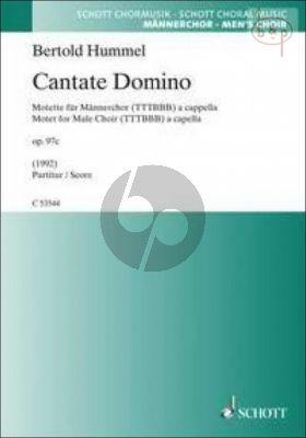 Cantate Domino (Motet) Op.97c (TTTBBB)