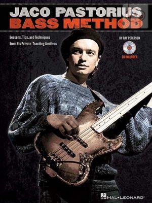 Jaco Pastorius Bass Method (Book with Audio online)