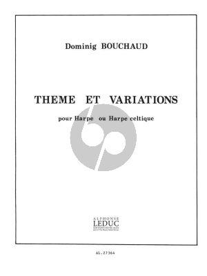Bouchaud Theme et Variations pour Harpe (Prep.2)