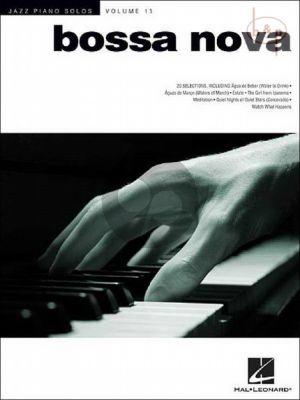 Bossa Nova (Jazz Piano Solos Vol.15)