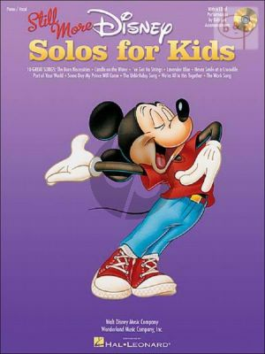 Still More Disney Solos for Kids (10 Songs)
