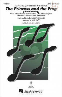 The Princess and the Frog (medley) (SATB-Piano)