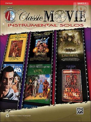 Classic Movie Instrumental Solos (Clarinet) (Bk-Cd)