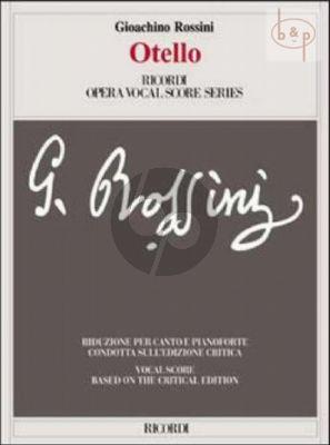 Otello (Vocal Score) (based on the Critical Edition)