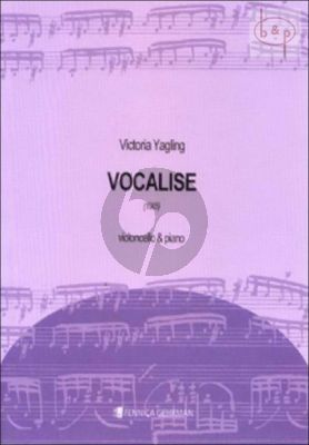 Vocalise Cello and Piano