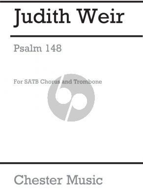Weir Psalm 148 SATB and Trombone (Score)