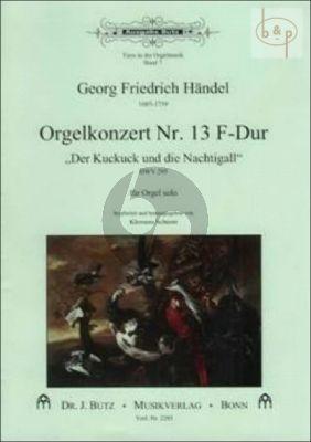 Orgelkonzert No.13 F-Dur HWV 295 (Der Kuckuck und die Nachtigall)