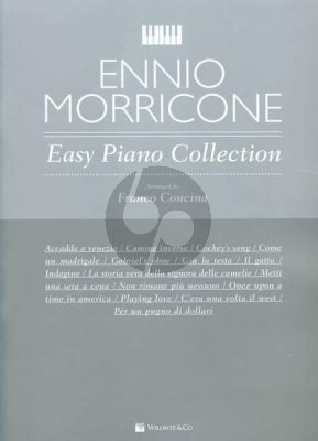 Morricone Easy Piano Collection (arr. Franco Concina)