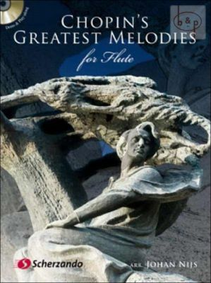 Chopin's Greatest Melodies for Flute Book with Cd