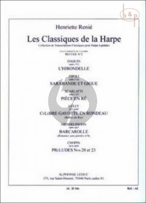 Les Classiques de la Harpe Vol.2