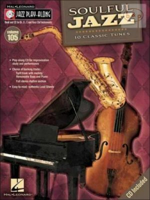 Soulful Jazz (Jazz Play-Along Series Vol.105)