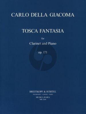 Giacoma Tosca Fantasia Op.171 for Clarinet and Piano