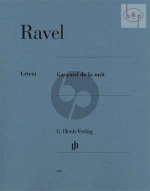 Ravel Gaspard de la Nuit Piano (edited by Peter Jost)