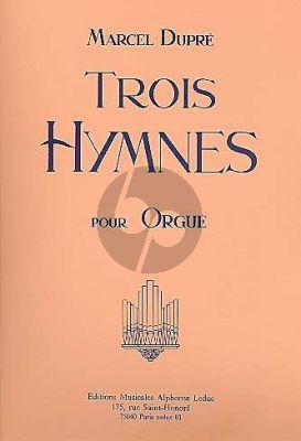 Dupre 3 Hymnes pour Orgue