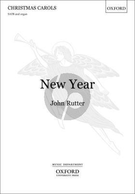 Rutter New Year SATB and Organ