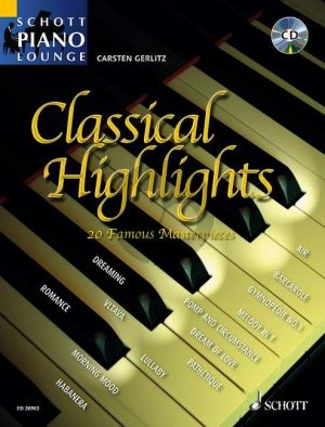 Classical Highlights (20 Famous Masterpieces) (Bk-Cd) (compiled and edited by Carsten Gerlitz)
