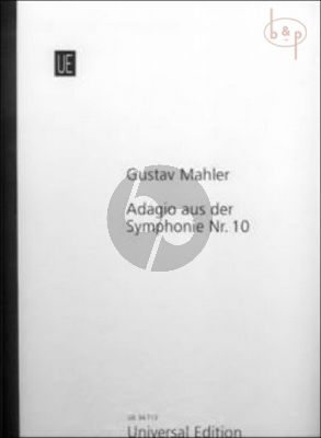 Adagio from Symphonie No.10 (Full Score) (after the Mahler Critical Edition)