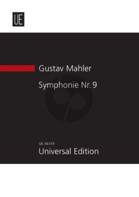 Mahler Symphony No.9 Study Score (Dover)