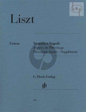 Venezia e Napoli (Annees de Pelerinage 2 Suppl.)
