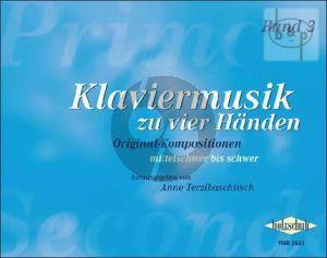Terzibaschitsch A. Klaviermusik zu Vier Handen Vol.3 (interm.-adv.)