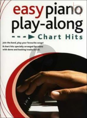 Easy Piano Play-Along Chart Hits