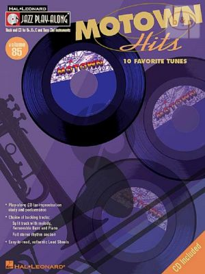Motown Hits (Jazz Play-Along Series Vol.85)