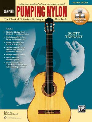 Tennant Pumping Nylon Complete Bk-Online Video/Audio Access Code (A Classical Guitarist's Technique Handbook) (Second Edition)