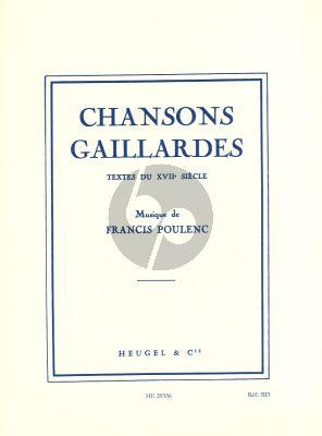 Chansons Gaillardes