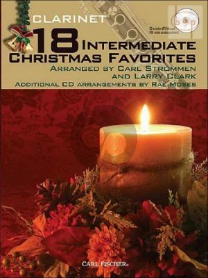 18 Intermediate Christmas Favorites (Clarinet)