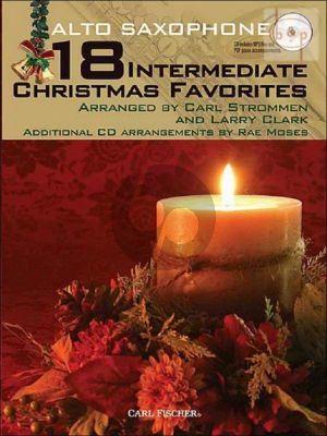 18 Intermediate Christmas Favorites (Alto Sax.)