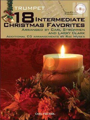 18 Intermediate Christmas Favorites (Trumpet)