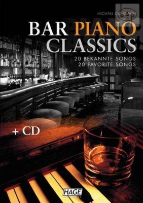 Bar Piano Classics (Bk-Cd) (edited by Michael Gundlach)