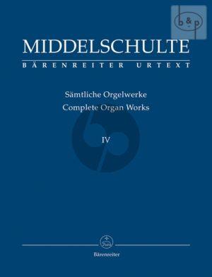 Samtliche Orgewerke Vol.4