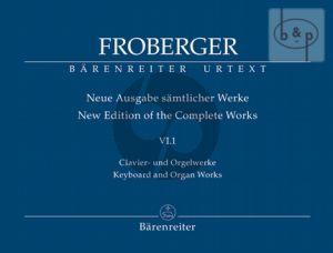 Samtliche Clavier-Orgelwerke Vol.6 Teil 1 (Neue Ausgabe samtliche Werke)