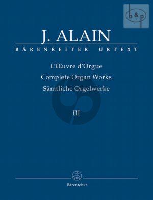 Samtliche Orgelwerke Vol.3